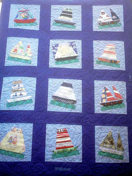 Robin Sew Crazy Baby Clothing Quilts