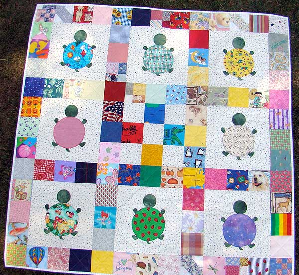 Quilt Patterns With Turtles : Robin Sew Crazy! 100 Wishes Quilts